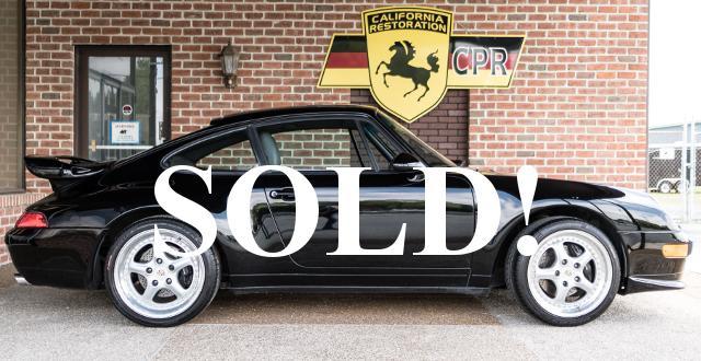 #0235 1996 Porsche 993 Carrera Coupe