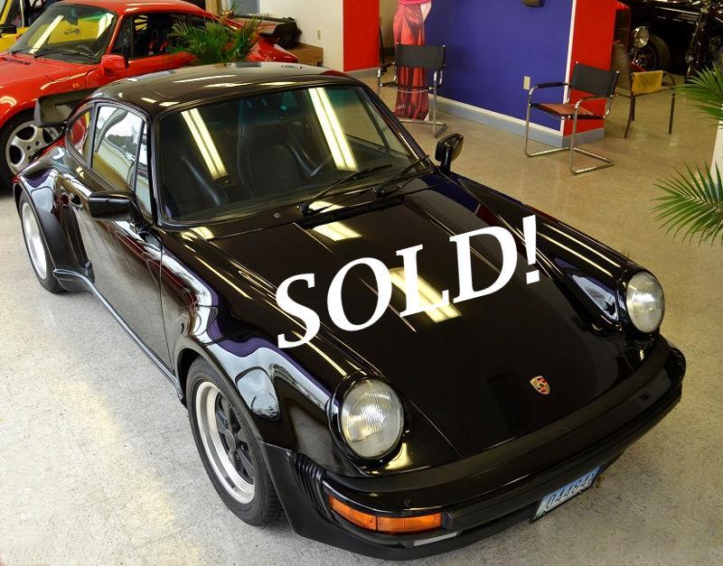 #0259 1986 Porsche 930 Turbo Coupe.