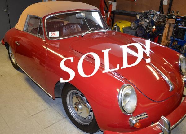 1963 356B Red Cabriolet
