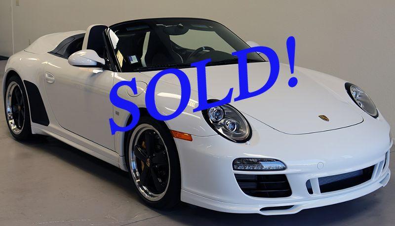 #7601 2011 Porsche Ultra Rare Speedster
